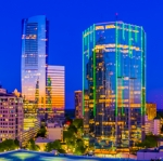 Sunset - Buckhead Loop - a panoramic photo from SpringHill Suites by Marriott Atlanta Buckhead