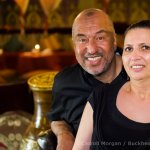 Rafih and Rita Benjelloun at the Imperial Fez Restaurant Atlanta