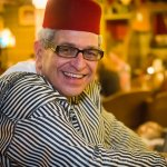 Jay Hare, birthday boy, at Imperial Fez Restaurant Atlanta