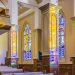 The Church of the Apostles interior panoramic photography for Architects and Interior Designers