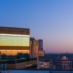 Panoramic photo from JW Marriott in Atlanta, GA