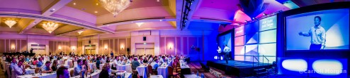 Corporate event photography:  Microsoft Panoramic